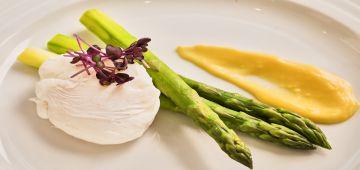 Mozart Dinner vegetarian VIP menu second course