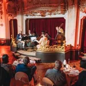 mozart dinner musicians