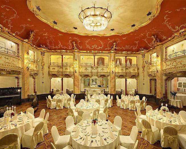 večeře s mozartem boccaccio sál
