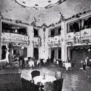Mozart Dinner Boccaccio Hall history