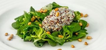 večeře s mozartem vánoční vegetariánské menu předkrm