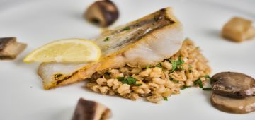 Mozart Dinner VIP menu fish